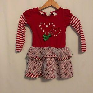 Girls Christmas top size 5